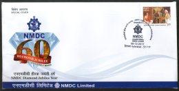 India 2017 NMDC National Mineral Development Corporation Diamond Sp. Cover # 18472 - Minerals