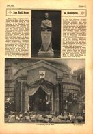 Das Rote Kreuz In Mannheim  / Druck,entnommen Aus Zeitschrift/1915 - Livres, BD, Revues