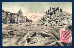 Canada. Montréal. Le Port Au Printemps. Blocs De Glace Du Saint-Laurent. 1908 - Montreal
