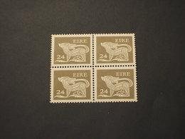 IRLANDA - 1981 CANE  24 P., In Quartina(block Of Four) - NUOVO(++) - 1949-... Repubblica D'Irlanda