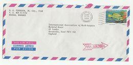 Air Mail BAHAMAS COVER Stamps FISH - Bahamas (1973-...)