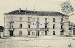 21 - Semur. Gendarmerie Et Sous Préfecture - Semur