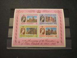 GRENADINES-ST. VINCENT - BF 1978 INCORONAZIONE(CASTELLI) - NUOVO(++) - Grenada (1974-...)