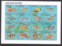Tanzania, Scott #770, Mint Never Hinged, Fish, Issued 1991 - Tanzania (1964-...)