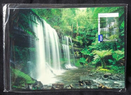 Australia 2008. Waterfalls. Set Of Maxicards - Environment & Climate Protection