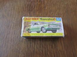 BX58 Matchbox, Boite D'origine Superfast N°53, Manque Rabats Coté Droit - Accessories
