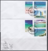 2017-FDC-46 CUBA 2017 FDC. BEACH PLAYAS DEL ANCON, VARADERO, SANTA LUCIA, PILAR, ENSENACHOS, GUARDALAVACA. - FDC