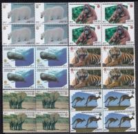 2017.169 CUBA 2017 MNH. BLOCK 4. FAUNA EN PELIGRO DE EXTINCION. CACHALOTE FISH, POLAR BEAR, TIGER, ALMIQUI, ORANGUTAN. - Cuba