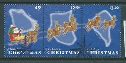 Tokelau 2012 Christmas Strip Of 3 FU - Tokelau