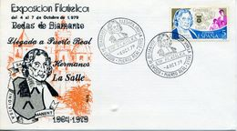 1979 SPAIN Jean Baptiste De La Salle 100 Years Of La Salle Schools In Spain. Puerto Real. San Juan Bautista De La Salle - 1931-Aujourd'hui: II. République - ....Juan Carlos I
