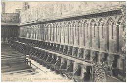 CP 978  CPA De La Chaise-Dieu (43) Eglise Stalles Et Tapisseries - La Chaise Dieu