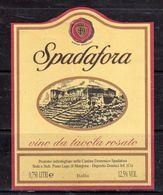 Domenico Spadafora (CS) - Vino Da Tavola Rosato - - Etichette