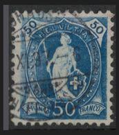 SVIZZERA - HELVETIA - (Vedere Fotografia) (See Photo) Lotto - 1882-99 - 50c-Blue - Oblitérés