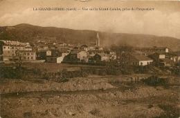 LA GRAND COMBE VUE PRISE DE L'IMPOSTAIRE - La Grand-Combe