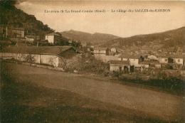 LA GRAND COMBE ENVIRONS  VILLAGE DES SALLES DU GARDON - La Grand-Combe