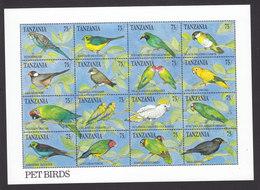 Tanzania, Scott #771, Mint Never Hinged, Birds, Issued 1991 - Tanzania (1964-...)