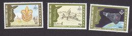 Tanzania, Scott #844-846, Mint Hinged, Boy Scouts, Issued 1992 - Tanzania (1964-...)