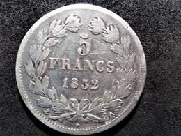 5 Francs Argent Louis Philippe 1832 A - J. 5 Francs