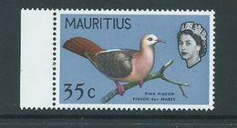 Mauritius 1966 35c Bird Definitives Sideways Watermark MNH - Mauritius (1968-...)