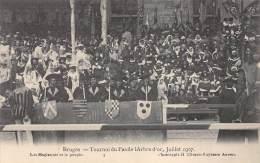 BRUGES - Tournoi Du Pas De L'Arbre D'or, Juillet 1907 - Les Magistrats Et Le Peuple - Brugge