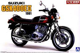 Suzuki GSX400E II 1981 1/12 ( Aoshima ) - Motorcycles