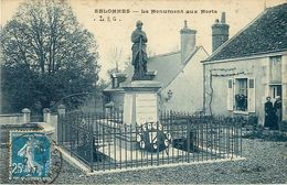 Cpa SELOMMES 41 Le  Monument Aux Morts - Selommes