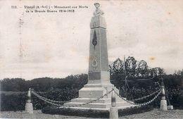 Cpa VINEUIL 41  Monument Aux Morts De La Grande Guerre 1914 - 1918 - France