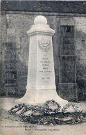 Cpa NOCE 61  Monument Aux Morts - Autres Communes