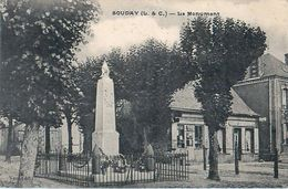 Cpa SOUDAY 41 Le Monument - France
