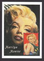 Tanzania, Scott #813, Mint Never Hinged, Marilyn Monroe, Issued 1992 - Tanzanie (1964-...)