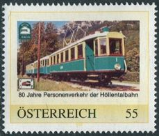 Austria Österreich EISENBAHN Railway TRAIN Zug Electric Locomotive Personal Personalised Personalized Personalisierte ** - Trenes