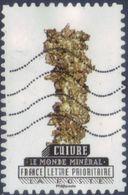 Oblitération Moderne Sur Adhésif De France N° 1223 - Le Monde Minéral - Cuivre - France