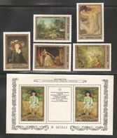 Russia/USSR 1984 Paintings Saint Petersburg Hermitage Museum,French Artists,Sc 5310-15 S/S,VF MNH** - Museums