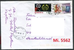 Rumänien - Roumenie - Rumania - Romania - Michel 5562 Mit Hotelstempel Auf Brief - 1948-.... Republics