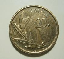 Belgium 20 Francs 1981 - 1951-1993: Baudouin I