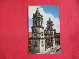 Panama  City Cathedral       2 Overprint  Stamp  & Cancel    Ref 2857 - Panama