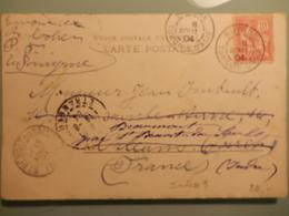 Courriers De Turquie (début 1900 ) SMYRNE Et CONSTANTINOPLE - 1837-1914 Smyrne