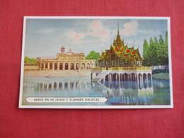 Thailand Bang Pa In Summer Palace Ref 2857 - Thailand
