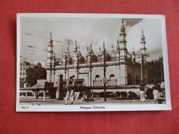 Mosque Calcutta  India   RPPC   Ref 2857 - India