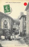 Vion (Ardèche) - Enfants Dans La Rue De La Chapelle Miraculeuse (Notre Dame De Pitié) - Edition Sauvade - France