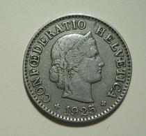 Switzerland 5 Rappen 1925 - Suisse