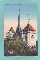 Small Post Card Of Tours De St.Pierre,Geneve,Geneva, Geneva, Switzerland,K32. - GE Geneva