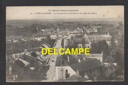 DF / 70 HAUTE SAÔNE / PORT SUR SAÔNE / LA GRANDE-RUE ET ST-VALÈRE / PUBLICITÉ MURALE POUR LA DRAPERIE DAVID LÉVY / 1918 - Altri Comuni