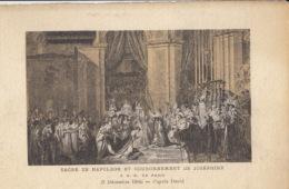 NAPOLEON  - Sacre De Napoléon Et Couronnement De Joséphine - 2 Decembre 1905 : Achat Immédiat - Histoire