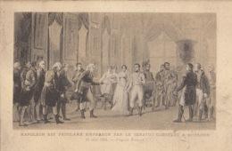 NAPOLEON  -  Napoléon Eest Proclamé Empereur Par Le Senatus Consulté à St Cloud : Achat Immédiat - Histoire