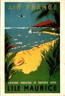 Air France - Ile Maurice - Renluc 1954 - Aviation