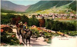 3XP 550 CHAMONIX - EN ROUTE POUR LE MONTANVERT - Chamonix-Mont-Blanc