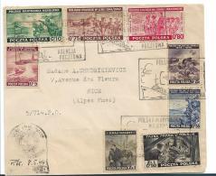 Pol204 / - POLEN -  Exilausgabe Von 1941, Satzbrief - 1939-44: 2. WK