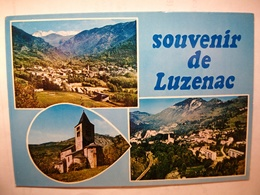 Carte Postal Luzenac (09) Vue Generale,Eglise D'Axiat ,Vernaux,Lordat,Pic Du Thie De Vebre - Autres Communes