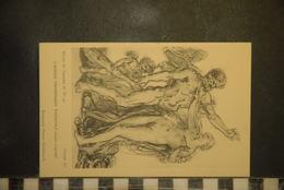 CP,  GREUZE, Musée De Tournus, L'amour Triomphant D'Hercule - Peintures & Tableaux